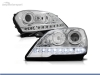 FAROIS DIANTEIROS LUZ DIURNA LED PARA MERCEDES CLASE ML W164