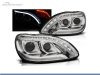 FAROS DELANTEROS LUZ DIURNA LED + TUBE LIGHT PARA MERCEDES CLASE S W220