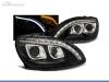 FAROIS DIANTEIROS LUZ DIURNA LED + TUBE LIGHT PARA MERCEDES CLASE S W220