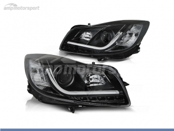 FAROS DELANTEROS LUZ DIURNA LED REAL + TUBE LIGHT PARA OPEL INSIGNIA
