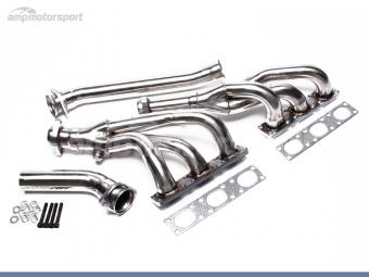 COLECTORES DE ESCAPE INOX PARA BMW E34 / E36 / E39