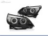 FAROIS DIANTEIROS ANGEL EYE CCFL PARA BMW SERIE 5 E60 / E61 / BERLINA / TOURING