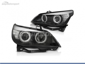 FAROIS DIANTEIROS ANGEL EYE CCFL PARA BMW SERIE 5 E60 / E61 / BERLINA / TOURING