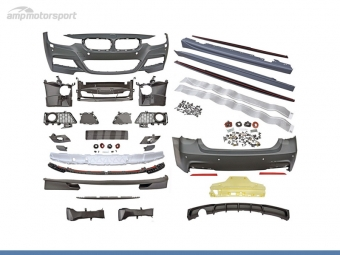 KIT DE CARROCERIA PARA BMW SERIE 3 F30 LOOK M-PERFORMANCE