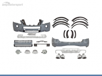 KIT DE CARROCERIA PARA MERCEDES ML W164 LOOK E63 AMG