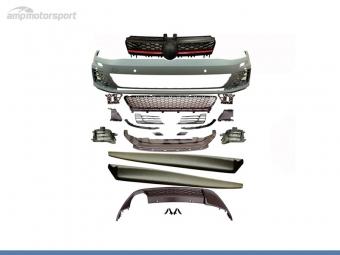 KIT DE CARROCERIA PARA VW GOLF MK7 LOOK GTI CON PDC