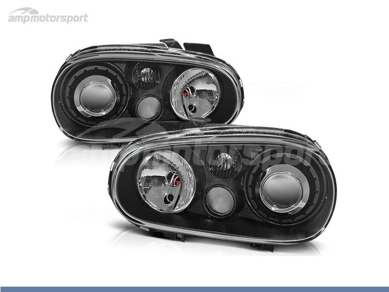 FAROIS DIANTEIROS LOOK R32 PARA VOLKSWAGEN GOLF MK4