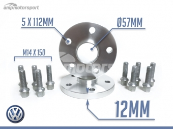 SEPARADORES DE 12MM PARA VW GOLF
