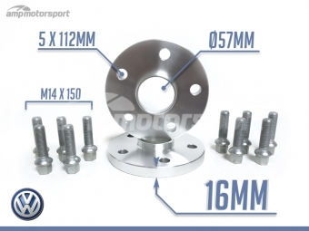 SEPARADORES DE 16MM PARA VW GOLF