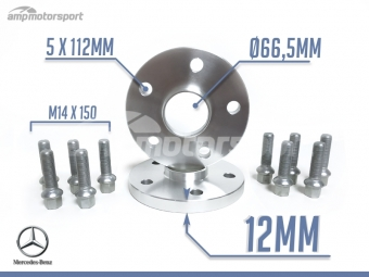 ESPAÇADORES DE 12MM PARA MERCEDES ML