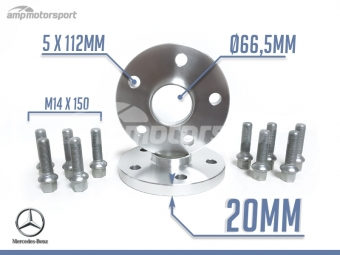 ESPAÇADORES DE 20MM PARA MERCEDES ML