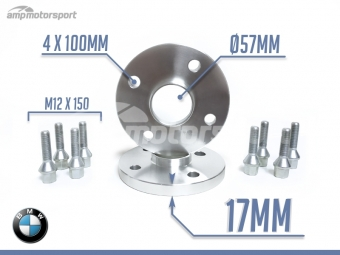 SEPARADORES DE 17MM PARA BMW E30 M3