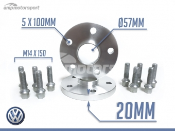 SEPARADORES DE 20MM PARA VW GOLF 4