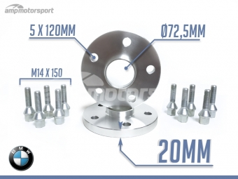 SEPARADORES DE 20MM PARA BMW X3