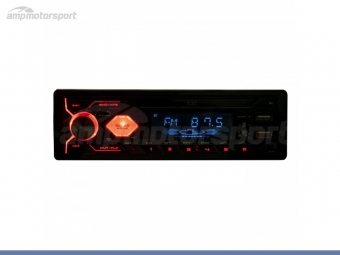 RADIO 1 DIN UNIVERSAL USB BLUETOOTH